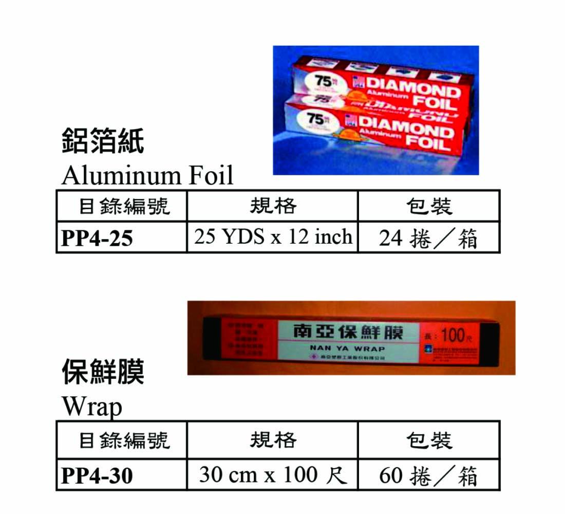 鋁箔紙/保鮮膜